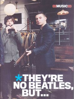 Nick O'malley and Matt Helders