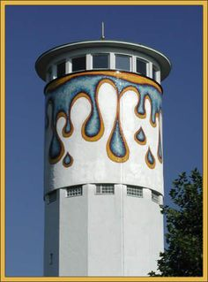 water tower, Thomashardt, Germany