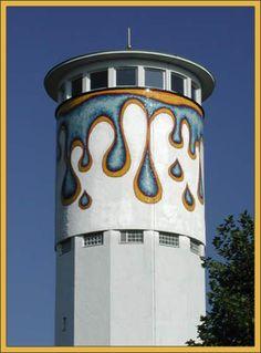 water tower, Thomashardt, Germany