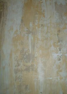 Peeling plaster walls
