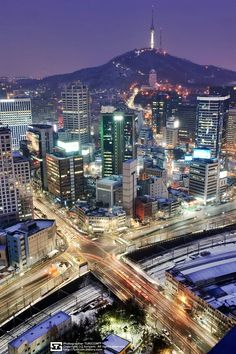 Hotel Bee - Travel tips and Travel Guides South Korea Seoul, South Korea Travel, Daegu South Korea, South Korea Photography, City Photography, Places To Travel, Places To See, Beautiful World, Beautiful Places