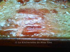 Banh Gan surface dorée La Kitchenette de Miss Tâm - flan au lait de coco