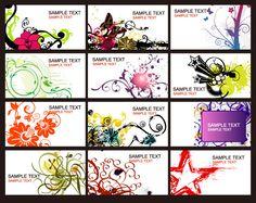 Pattern Decorative Business Card