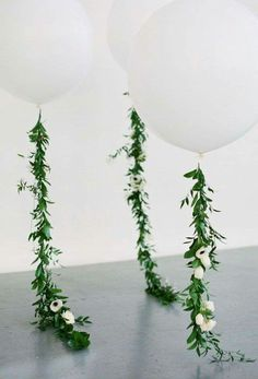 Wedding balloon idea