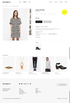 Need Supply Product page #ecommerce http://needsupply.com/