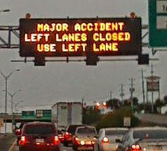 I love my home state and all...but something tells me it came from here :)  Road sign | traffic sign | funny pic