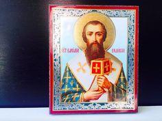 Saint Basil the Great St Basil's, Russian Icons, Tsar Nicholas Ii, Orthodox Christianity, Orthodox Icons, Being A Landlord, Historian, Folk Art, Saints