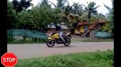 Nowy motocykl, pierwsze próby
