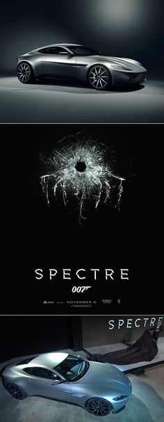 HOLY ****! Aston Martin DB10 to star in new James Bond film Spectre. All the action here! #spon #007