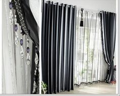 grey-black-white-curtains-architecture-interior-decoration-of-fancy-curtains-crushed-curtain-spanish-design-gray-black-contemporary-curtain-transparent-living-room-spcetacular-curtain