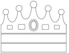 Sorrisos de Criança: Moldes de coroas - reis magos