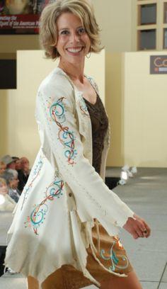 Cowgirl Fashion :: Jackets and Blazers :: MEREDITH LOCKHART CUSTOM DEERSKIN JACKET! - Native American Jewelry|Ladies Western Wear|Double D R...