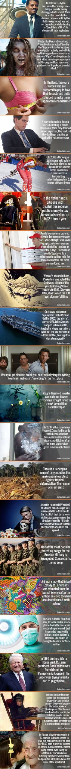 20 Amusing Facts Compilation - Part 3