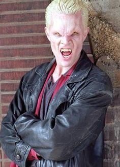 """Spike (James Marsters) from """"Buffy the Vampire Slayer"""""""