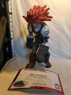 Final Fantasy 9 Amarant Prototype Palisades Toys CoA