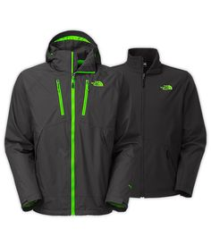 for David—MEN'S CONDOR TRICLIMATE® JACKET ($290)