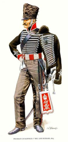 Prussian Brandenburg 1815