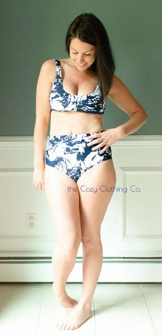 Mairin Swimsuit by Sew a little seam