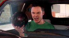 Sheldon directs Penny to a bowling alley. Sheldon exclaims that his brain is better than everybody's since he knew to bring the bowling ball.