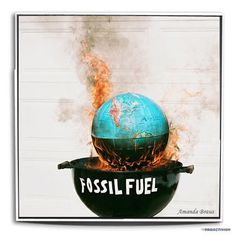 Burn baby burn, burn that mother down!!!  WTF  / #climatechange #fossilfuels  Photo by proactivism • Instagram