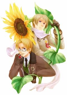 (cover spring 2010) by 守屋ココ - Hetalia - America / Russia