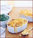 Macaroni and Three Cheeses // More Comfort Food: http://www.foodandwine.com/slideshows/comfort-food #foodandwine