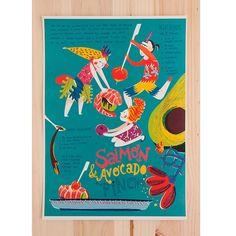 Sara Infante vive e trabalha em Lisboa, onde tem o sol como companhia. Ilustrações coloridas e alegres saem da sua imaginação diretamente para papel e computador, quais raios de sol. Ela tinha vindo a ter desejos de fazer algumas ilustrações sobre comida e, com muito prazer, a nham nham! garantiu-lhe esse desejo. Esta é a sua deliciosa contribuição.