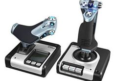 Logitech G Saitek Flight Control System - guter preis online Logitech, Usb, Flight Simulator Cockpit, Bad Room Ideas, Simulation, Gaming, Control System, Cool Gadgets, Get Well Soon
