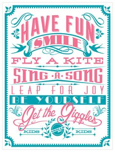 Childhood is fleeting, so let's enjoy these little ones and let them be kids! Typography wall art decor for kids in a modern pink and teal color palette goes great in any kid's room or playroom. Kids Canvas Art, Canvas Artwork, Canvas Frame, Pink Wall Art, Baby Wall Art, Canvas Wall Decor, Wall Art Decor, Modern Color Palette, Pink Walls