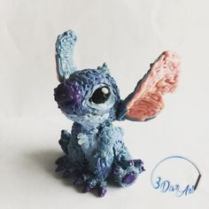 3D Pen- Stitch figurine 3d Drawing Pen, 3d Drawings, 3d Zeichenstift, Boli 3d, Stylo 3d, Pen Art, Doodle Art, Creative Art, 3d Printing