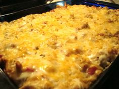 The Homemaking Fashionista: Chicken Dorito Casserole