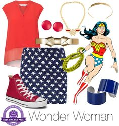 Everyday Cosplay: Wonder Woman | Geek Girl Pen Pals Club #IGGPPC