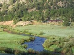 Lake George House Rental: Secluded And Private Ranch House On The Tarryall River   Bring you horses