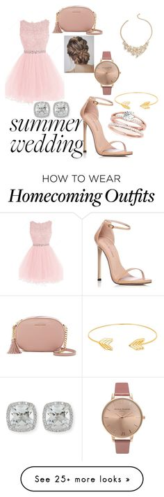 """""""Wedding Time"""" by allen-haley on Polyvore featuring Stuart Weitzman, MICHAEL Michael Kors, Lord & Taylor, Olivia Burton, Frederic Sage and Talbots"""
