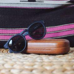 The Clement Black Rubber #komono #sunglasses