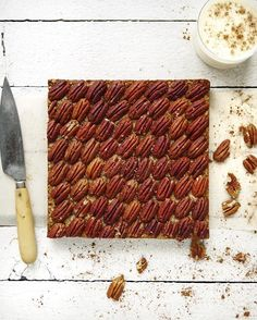 Pecan Pie Granola Bars via @feedfeed on https://thefeedfeed.com/erinireland/pecan-pie-granola-bars