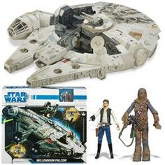 Star Wars 3.75 New Millennium Falcon:Millennium Falcon @ niftywarehouse.com #NiftyWarehouse #Geek #Products #StarWars #Movies #Film