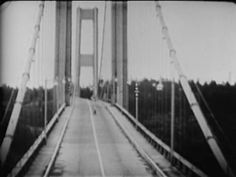 Tacoma Narrows Bridge disaster, November 7, 1940. Many times a picture is insufficient to do the job and this very short video shows the magnitude of the disaster. The Tacoma Narrows bridge was completed in July 1940 but on Nov 7, 40mph winds created a resonance pattern that caused the bridged to tear itself to pieces. A dog trapped in a car was the only fatality. The bridge cost millions to construct and only lasted a few months. A new bridge was not built til more than 10 years later.