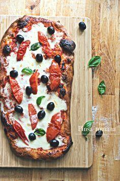 "Tipo "" Pinsa romana ""  Pizza"