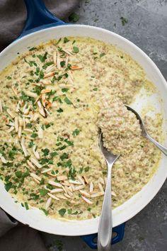 Broccoli Pesto Couscous Risotto | Naturally Ella