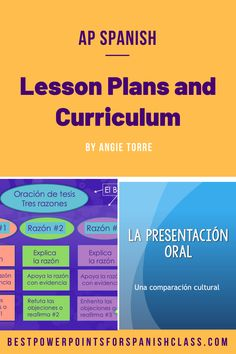 AP Spanish Lesson Plans and Curriculum for an Entire Year: Triángulo aprobado How To Teach Grammar, Teaching Grammar, Teaching Spanish, Daily Lesson Plan, Spanish Lesson Plans, Spanish Lessons, Answers To Homework, Quizzes And Answers, Ap Spanish