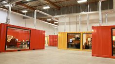 Condo Sales Office Built Out of Shipping Containers - Pesquisa Google