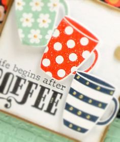 Sept 23 - 30 Fall Coffee Lover's Blog Hop clearly besotted close up