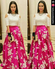 #Repost @BOLLYWOODSTYLEFILE  Rate the look👉1~10.Beautiful Shraddha Kapoor in a Padmasitaa outfit .@BOLLYWOODSTYLEFILE 💕💕💕 . Outfit ~ #padmasitaa . #bollywoodstylefile #bollywoodceleb #bollywoodfashion #bollywood #bollywoodactress #shraddhakapoor #pinklehenga #bridallengha #indianwedding #bridalwear #mumbai #Delhi #instabollywood #india #indian #desi #ibfb #tagforlikes #likesforlikes #mumbai