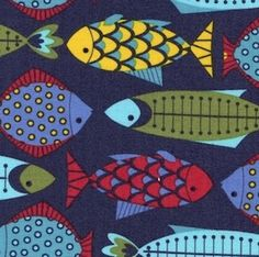 fish fabric.