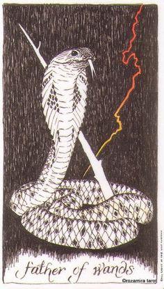 Bí mật Lá Father of Wands - Wild Unknown Tarot bài tarot Xem thêm tại http://tarot.vn/la-father-of-wands-wild-unknown-tarot/