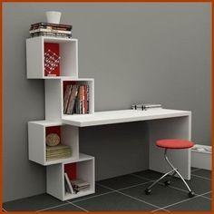 19 Ideas for bedroom desk study Home Office Design, Home Office Decor, Study Table Designs, Home Furniture, Furniture Design, Furniture Plans, Bedroom Desk, Room Decor, Shelves