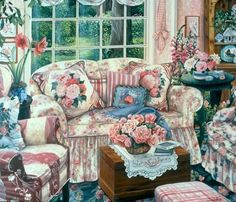 """The Rose Room"" Susan Rios Keepsakes 8 x 10"