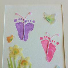 butterfly feet!