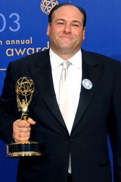 Jame Gandolfini - American actor. He is best known for his role as Tony Soprano in The Sopranos